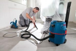 Bosch GAS 20 beim Hausbau