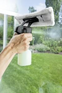 Fenstersauger - Die Reinigung