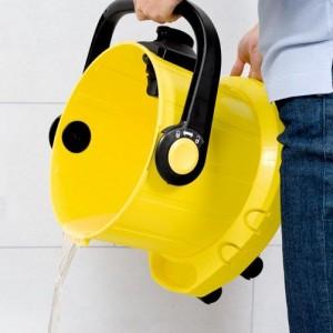 Waschsauger Entleeren des Behälters
